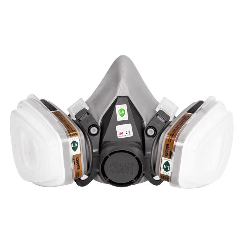 3M  6200 5N11CN(2片) 6001CN(2个) 501(2个)防毒面具整套 喷漆工种使用 保证原装 1套