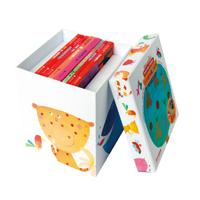 礼盒装左右脑训练工具书8册装 经典到底谁像谁等8册左右脑启蒙图书0-3岁