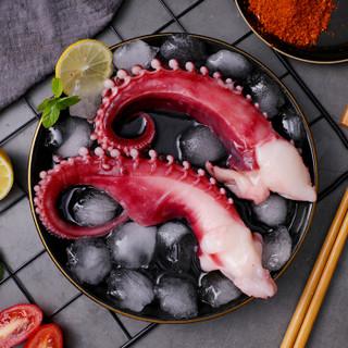 初鲜 冷冻章鱼足 大八爪鱼350g袋装 3-4只装 烧烤火锅食材 海鲜水产 海鲜年货