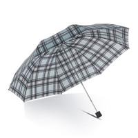 天堂伞 33641E 三折格纹雨伞 *2件