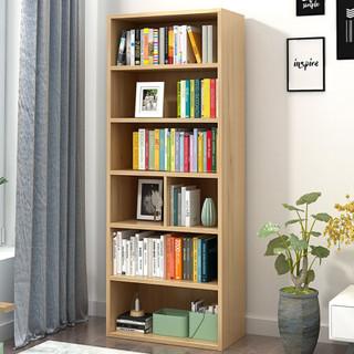 木以成居 LY-4122 松木色六层简易书架