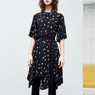MO&Co. 摩安珂 MA182DRS139M08 女士束腰印花连衣裙