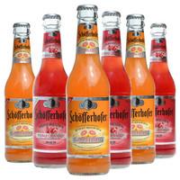 Schofferhofer 星琥小麦啤酒 德国进口星琥西柚/石榴 果味女士精酿啤酒330ml 6瓶星琥西柚/石榴组合