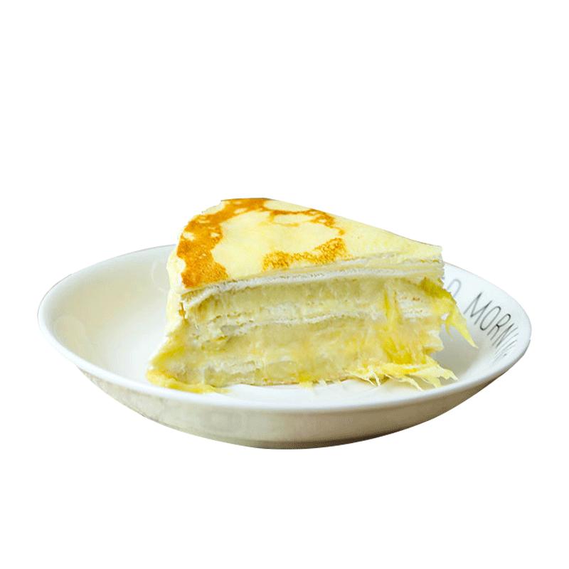 猫叔猫山王 榴莲千层蛋糕 4时 240g