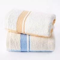 孚日洁玉 纯棉毛巾单条装 棕色 33*72cm