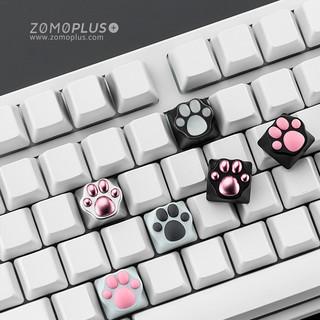 ZOMO原创设计 粉色可爱  zomo猫爪 机械键盘 创意 金属键帽