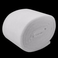 迪普尔 鱼缸水族箱过滤棉袋高透水白棉过滤材料毛毯袋干湿分离高密度净化过滤魔毯棉 加厚白色过滤棉600*30*3cm *