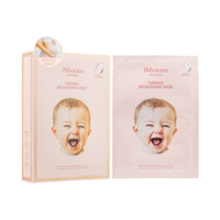 JMsolution 肌司研 婴儿妈妈面膜 纯净提亮款 10片