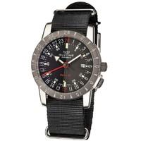 GLYCINE 冠星 Airman GL0211 男士兩地時機械腕表