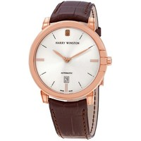HARRY WINSTON 海瑞温斯顿 午夜系列 MIDAHD42RR001 男士自动机械手表