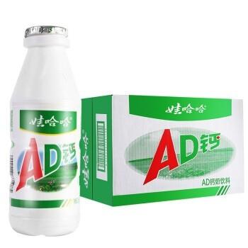 WAHAHA 娃哈哈 娃哈哈AD钙奶220ml*12/24瓶儿童酸甜