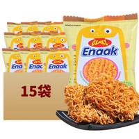GEMEZ Enaak 干吃方便面 烧烤鸡肉味 16g*15袋