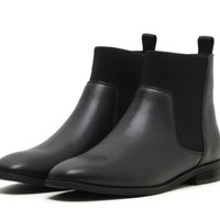 HAVMOON 女士拼接材质切尔西靴