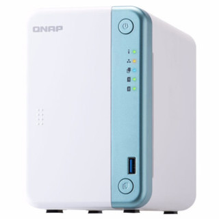QNAP 威联通 TS-251D-2G NAS网络存储器 标机无硬盘