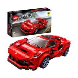 乐高(LEGO)积木 超级赛车76895 法拉利赛车7岁+ 生日新年礼物 儿童玩具 跑车汽车四驱车模型 男孩女孩 *5件