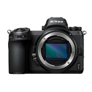 Nikon 尼康 Z 6 微单套机 (24-70mm f/4 微单镜头+FTZ转接口)
