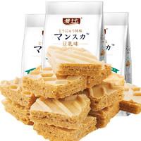 曼士卡 豆乳威化饼干 220g