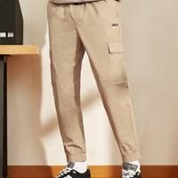 A21 R493116024 男士工装束脚裤