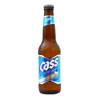 CASS 凯狮 cass清爽原味啤酒 330ml*6瓶