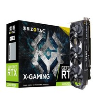 ZOTAC 索泰 RTX2080super X-GAMING OC V2 独立显卡 8G DRR6