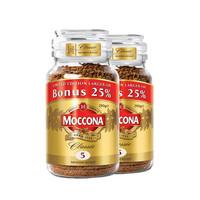 Moccona 摩可纳 冻干速溶咖啡 中度烘焙 250g*2罐