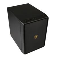SAHARA 撒哈拉空气盒子A3小机箱标准大电源台式电脑主机游戏MATX支持独立显卡厚板材商务办公