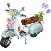 移动专享:LOZ 俐智 小颗粒摩托积木 1117 小绵羊摩托车