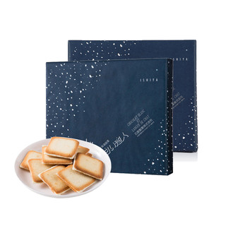 ISHIYA 石屋制果 白色恋人 白巧克力夹心薄饼 12片*2盒