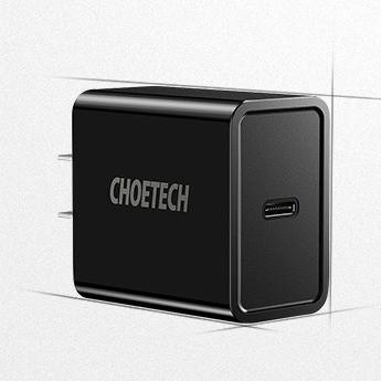 CHOETECH 迪奥科 USB-C PD充电器 18W