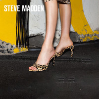 Steve Madden/思美登新款春夏女鞋浅口单鞋鱼嘴高跟凉鞋ERIN *2件
