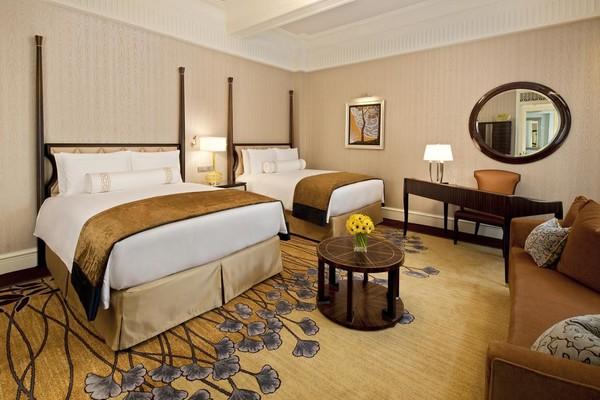 周末、节假日不涨价!有SNP!上海和平饭店 豪华市景房1晚  含早餐+双人茉莉酒廊西式晚餐