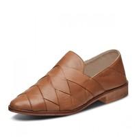 SKECHERS 斯凯奇 44660-TAN 女款一脚蹬单鞋