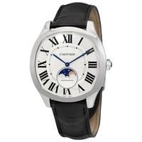 Cartier 卡地亞 大道系列 自動男士鱷魚皮手表