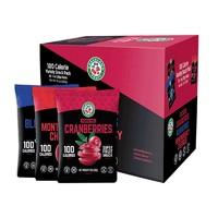 果瑞氏 美国进口蔓越莓干零食混合果干礼盒 283g *2件