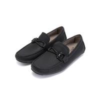 Salvatore Ferragamo 菲拉格慕 02B796 0713330 男士FRONT4系列黑色牛皮休閑鞋