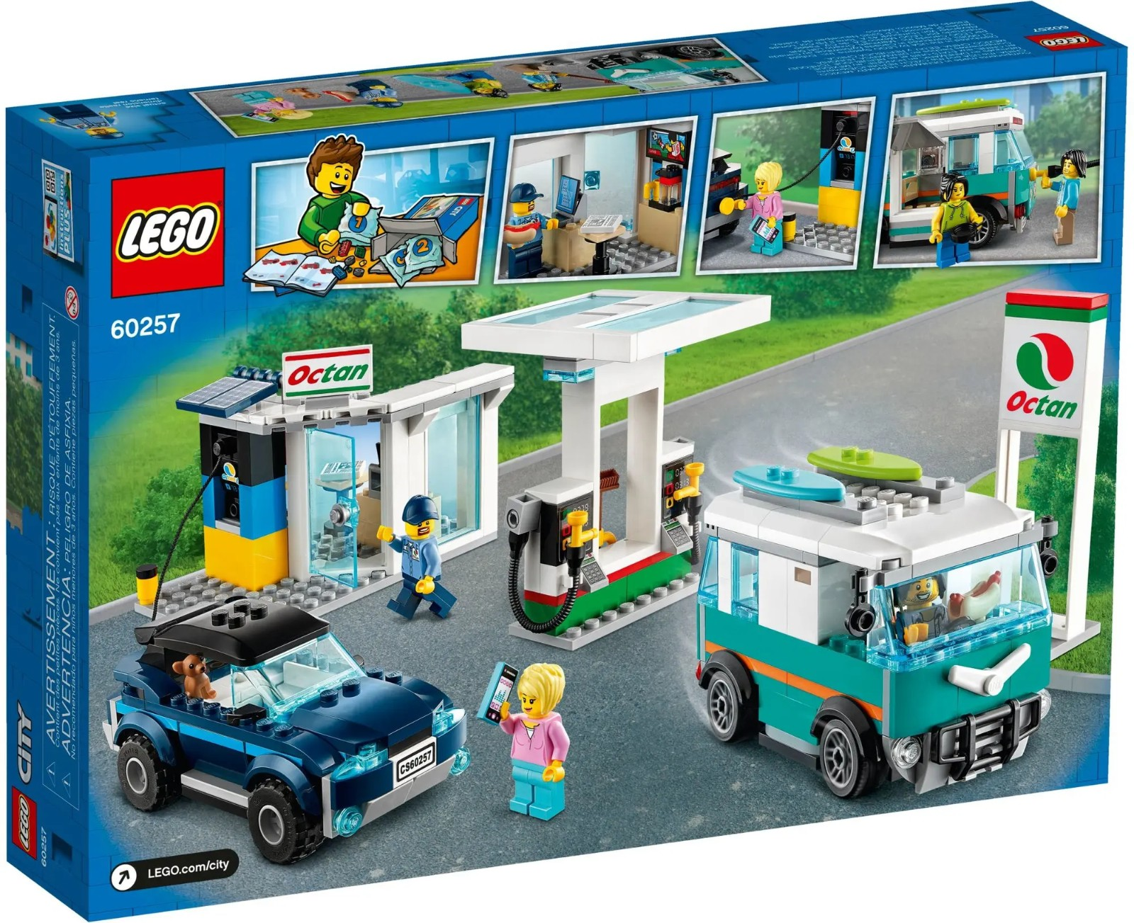 LEGO 乐高 城市组 60257 车辆服务站