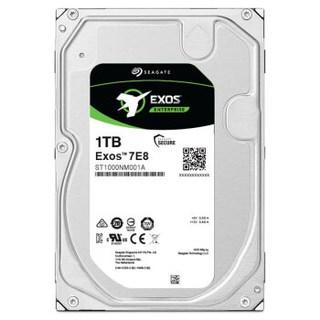 SEAGATE 希捷 银河Exos7E8系列 ST1000NM001A 企业级硬盘 新1TB SAS 12Gb/s 256MB 7200RPM