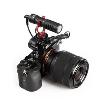 BOYA 博雅BY-MM1单反相机采访麦克风录音设备手机拍摄婚庆微电影新闻vlog视频指向性专业外接话筒收音麦