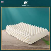 goldenchang金象泰国原装进口天然乳胶枕头护颈颈椎橡胶枕头正品