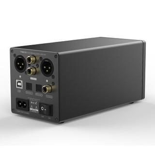 双木三林(S.M.S.L) M500 电脑手机解码耳放一体机DAC推大耳ES9038pro支持MQA 沉稳黑