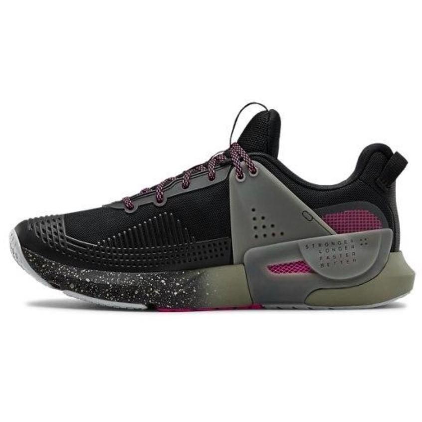 UNDER ARMOUR 安德玛 Hovr Apex 男士训练鞋 3022206 黑色 42.5