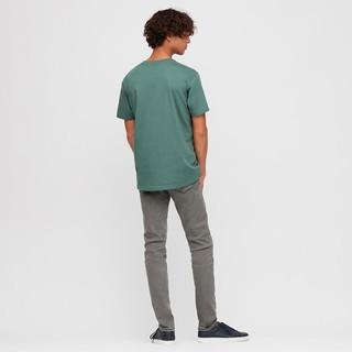 UNIQLO 优衣库 男士高弹牛仔裤422360 水蓝色 60/70A