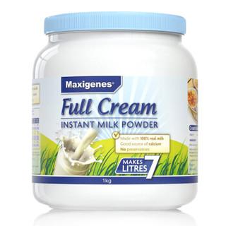 Maxigenes 全脂高钙奶粉 1kg *3件