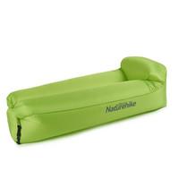 Naturehike挪客户外空气沙发椅午休沙滩便携式懒人充气沙发充气床 大号-青草绿