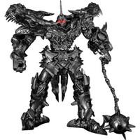 王者威将钢索变形玩具金刚5黑苹果平头擎天之柱 放大合金版战刃大黄蜂汽车机器人模型 钢索骑士