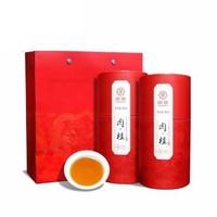 Chinatea 中茶 肉桂武夷岩茶 红色两罐 礼盒装  360g