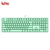 ikbc C210 108键机械键盘 绿色 茶轴