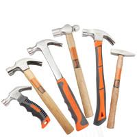 工具专家手兵器 木柄羊角锤 0.2kg