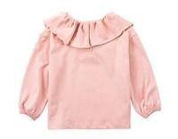 Oissie 奧伊西 女童長袖圓領上衣 AYX20SS003 粉色 80cm
