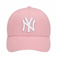 MLB 美國職棒大聯盟 男女棒球鴨舌帽 粉色 均碼